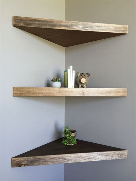 diy floating corner shelves   home floating