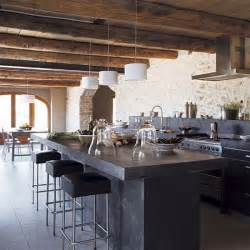 House To Home Kitchen by Open Plan Kitchen Provencal Barn House Tour