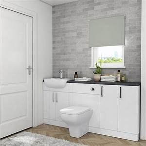 Oliver, 1800, Fitted, Bathroom, Suite