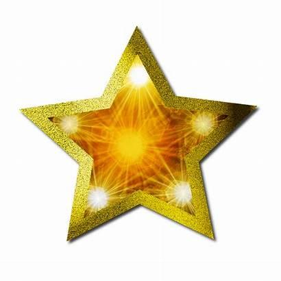 Star Gold Christmas Clipart Pattern Starfish Golden