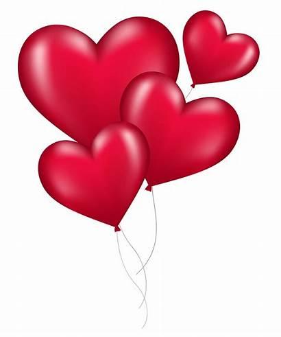 Heart Balloons Balloon Valentine Pngpix Shaped Symbols