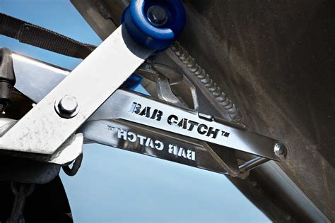 Boat Trailer Guide Bars by Bar Catch Boat Launch Retrieve System Bar Crusher