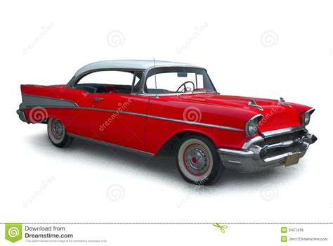 Classic Red Car Royalty Free Stock Image