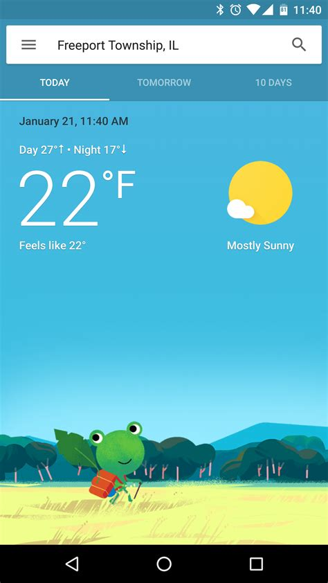 google rolling redesigned weather experience android