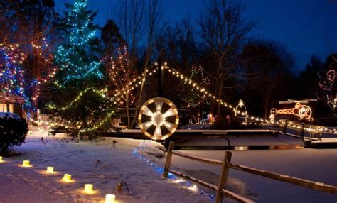 ohio christmas winter towns light displays places lights magical washington township visit through most unforgettable recreation woodland trip road oh
