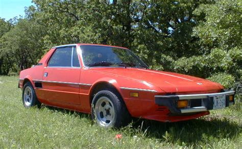 1976 Fiat X19 by 1976 Fiat X1 9 Information And Photos Momentcar
