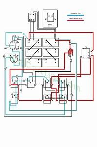 Wiring Diagram For Ezgo Rxv