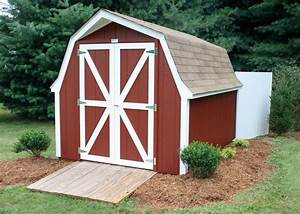 gambrel roof shed vs gable roof shed which design is With barn style garden sheds