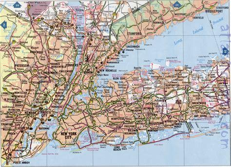 long island road map