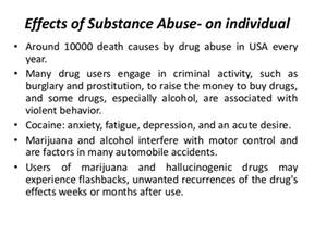 effect of drug addiction essay I am a new mem, i just did an essay and need your help to improve my writing skill thanks ^^ drug abuse is being seen as a serious problem in the society that could be defined as the lost controlling of drug people who have used too much.