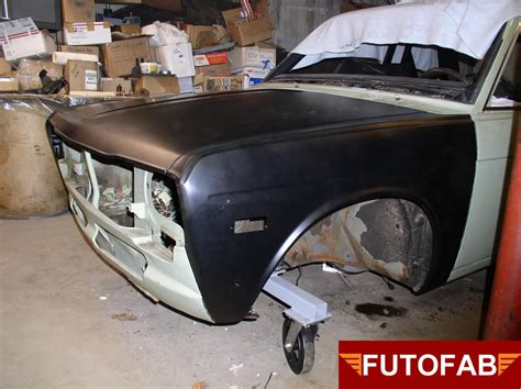 Datsun 510 Restoration Parts by Datsun 510 Front End Restoration Parts