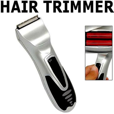 rechargeable hair clipper beard electric trimmer body hair