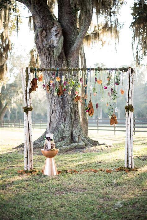 40 Outdoor Fall Wedding Arch And Altar Ideas Fall