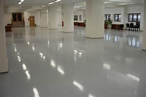 Barevné lité podlahy