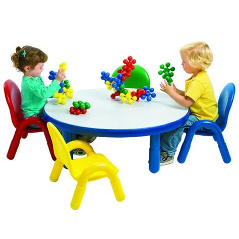 angeles 174 baseline 174 toddler table and 4 chair set