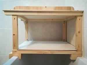 Table à Langer à Poser Sur Baignoire : table langer par sushi sur l 39 air du bois ~ Teatrodelosmanantiales.com Idées de Décoration