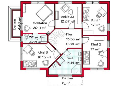 haus mit 4 kinderzimmern massivhaus in medtierranen stil mit 239 m 178 wohnfl 228 che