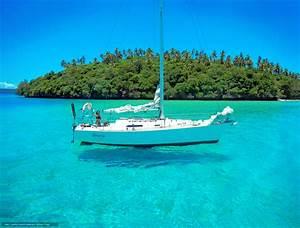 Download Hintergrund Meer Yacht Insel Freie Desktop