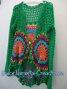 Crochet En S : saco tejido en crochet dise o ver nica colinir crochet y ~ Nature-et-papiers.com Idées de Décoration
