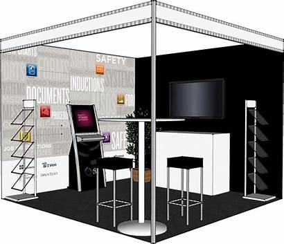Trade Booth Mockup Floor Layout Booths Plan