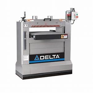 Delta 230-Volt 3HP 26 in Industrial Dual Drum Sander-31