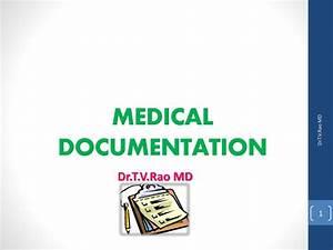 Ppt - Medical Documentation Powerpoint Presentation
