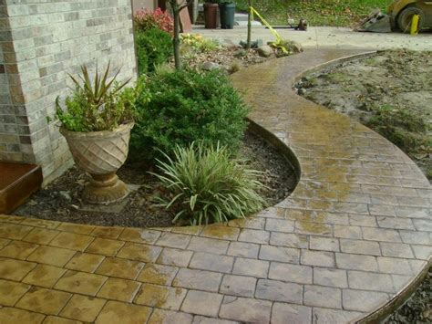 decorative sidewalk ideas 008 cement sidewalk ideas driveways patios sidewalks decorative concrete sted concrete