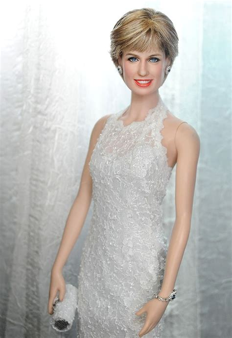 Le Lade Di Sale by Ooak Franklin Mint Princess Di Diana Spencer Doll