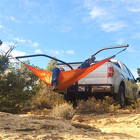 Hammock Setup Without Trees by Trailer Hitch Hammock Set Up A Cing Hammock Without