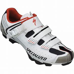 Bike24 - Specialized Comp MTB Shoe 2013 - white/red