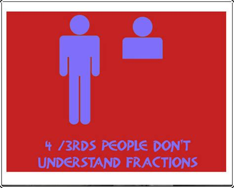 43rds People Don't Understand Fraction  Funny Tshirts  Chaos Clothing