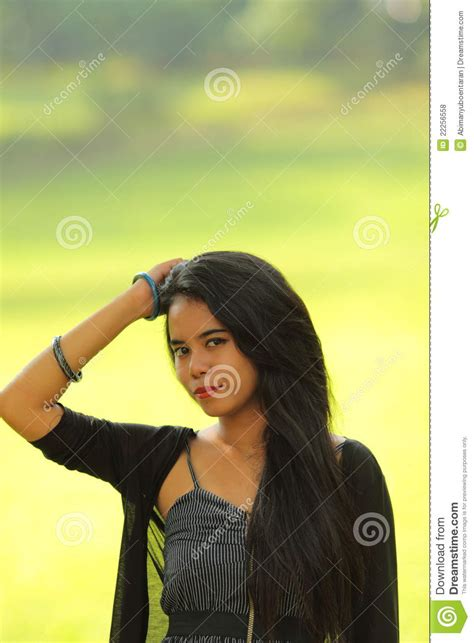 Exotic Indonesian Teen Asian Beauty Stock Photo Image Of Skinned Dark