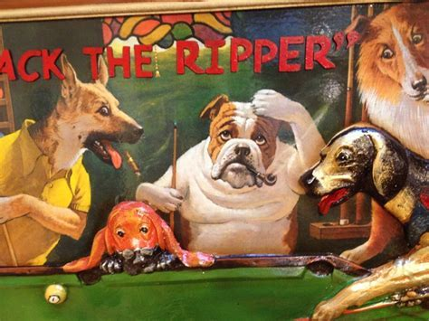 "Dogs Playing Pool "" Jack the Ripper"" @ Loria Awards"