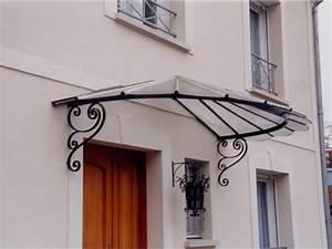 Marquise De Porte Ancienne : marquises en fer forg ferronnerie d 39 art de la brie ~ Dailycaller-alerts.com Idées de Décoration