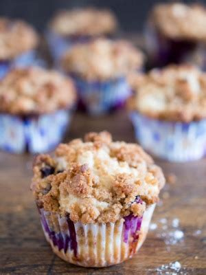 Then of course, there is that crumble topping to top them these are truly the best blueberry muffins i've ever made. Sour Cream Coffee Cake Streusel Muffins