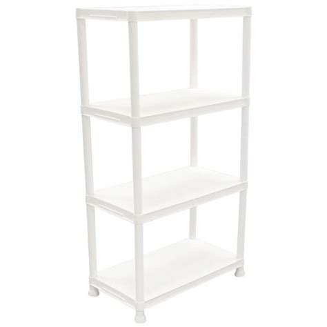 Hdx Plastic Storage Cabinets by 17 Best Ideas About Plastic Storage Shelves On
