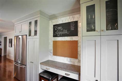 Kitchen Desk Depth by Kitchen Desk Transitional Kitchen Design