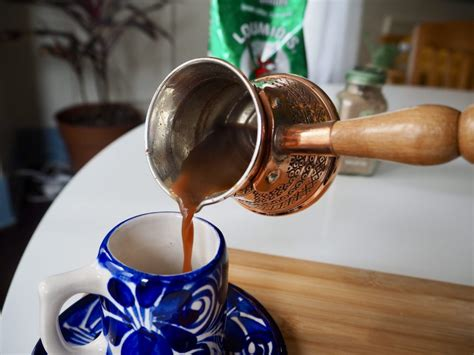 When it boils, add ground coffee. How to Make Arabic Coffee at Home - Coffee-Channel