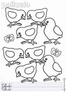 Poule En Espagnol : coloriage poussin 1 coloriages animaux de la ferme en espagnol ~ Medecine-chirurgie-esthetiques.com Avis de Voitures