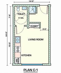 Creative small studio apartment floor plans and designs for One room apartment design plan