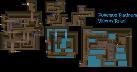 Victory Road Map And Item Locations Twitchplayspokemon