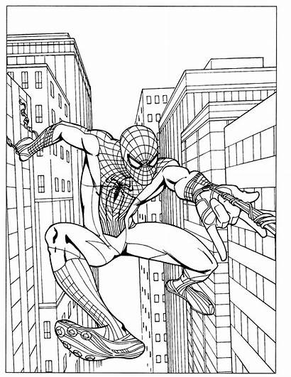 Coloring Spider Pages Amazing Printable Getcolorings Sp