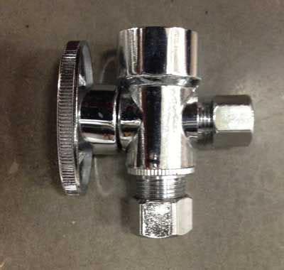 sink water shut off valve types of under sink shut off valves