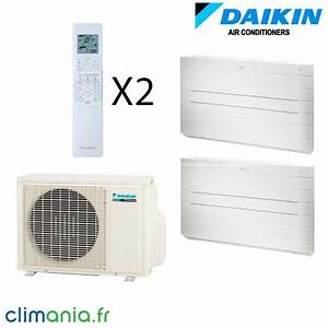 Climatiseur Bi Split : daikin bi split r versible 2mxs50h 2 fvxs25f climatiseur ~ Dallasstarsshop.com Idées de Décoration