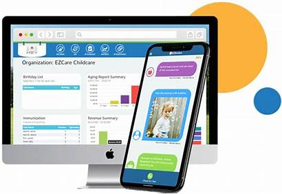 App Childcare Parent Transparent Check Preschool Ezcare