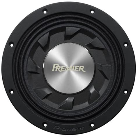 """Tssw1241d  Premier 12"""" Shallow Mount Subwoofer With 1400 Watts Max Power Pioneer"""