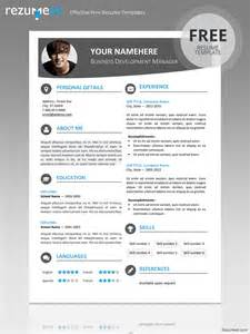 modern resume templates 2015 word hongdae modern resume template