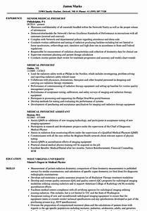 Current Resume Examples Medical Physicist Resume Samples Velvet Jobs