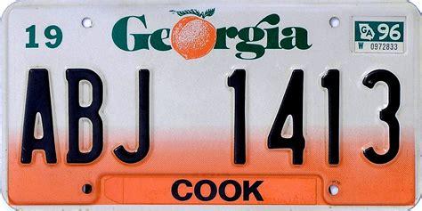 vanity plates ga file 1996 license plate abj 1413 jpg wikimedia
