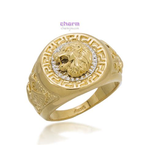 aliexpress buy real brand italina rings for men hot 2 colors 2015 italina rigant brand big size lion